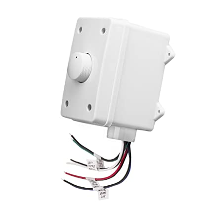 OVC300 Impedance Matching 300W Rotary Knob Style Outdoor Weather Resistant  Housing Volume Control - OSD Audio - (White)