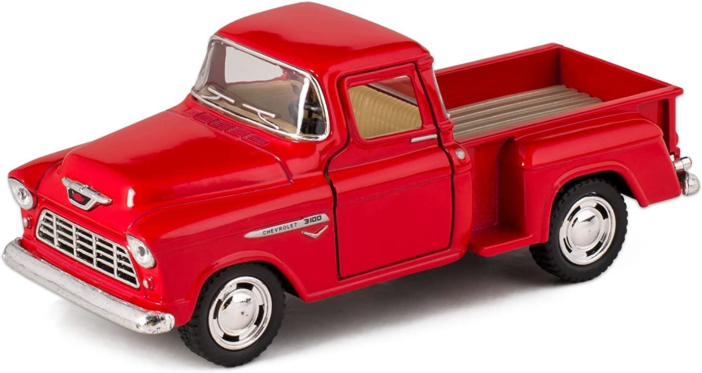 Redbox 73355AC Pickup 1:24 Die-Casting car Model Toy car Childrens Birthday Gift with Collectible Home Window Decoration Products
