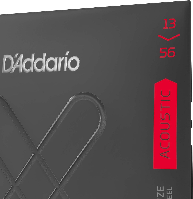 DAddario XT 80//20 Bronze Acoustic Guitar Strings XTABR1356