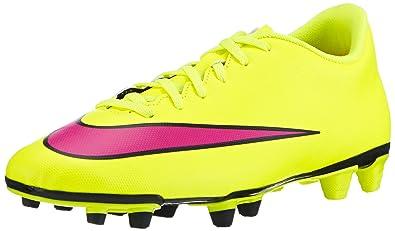 new styles cb0c6 4b1f2 Nike Mercurial Vortex II Fg, Men s Football Competition Shoes, Yellow (Volt  Hyper
