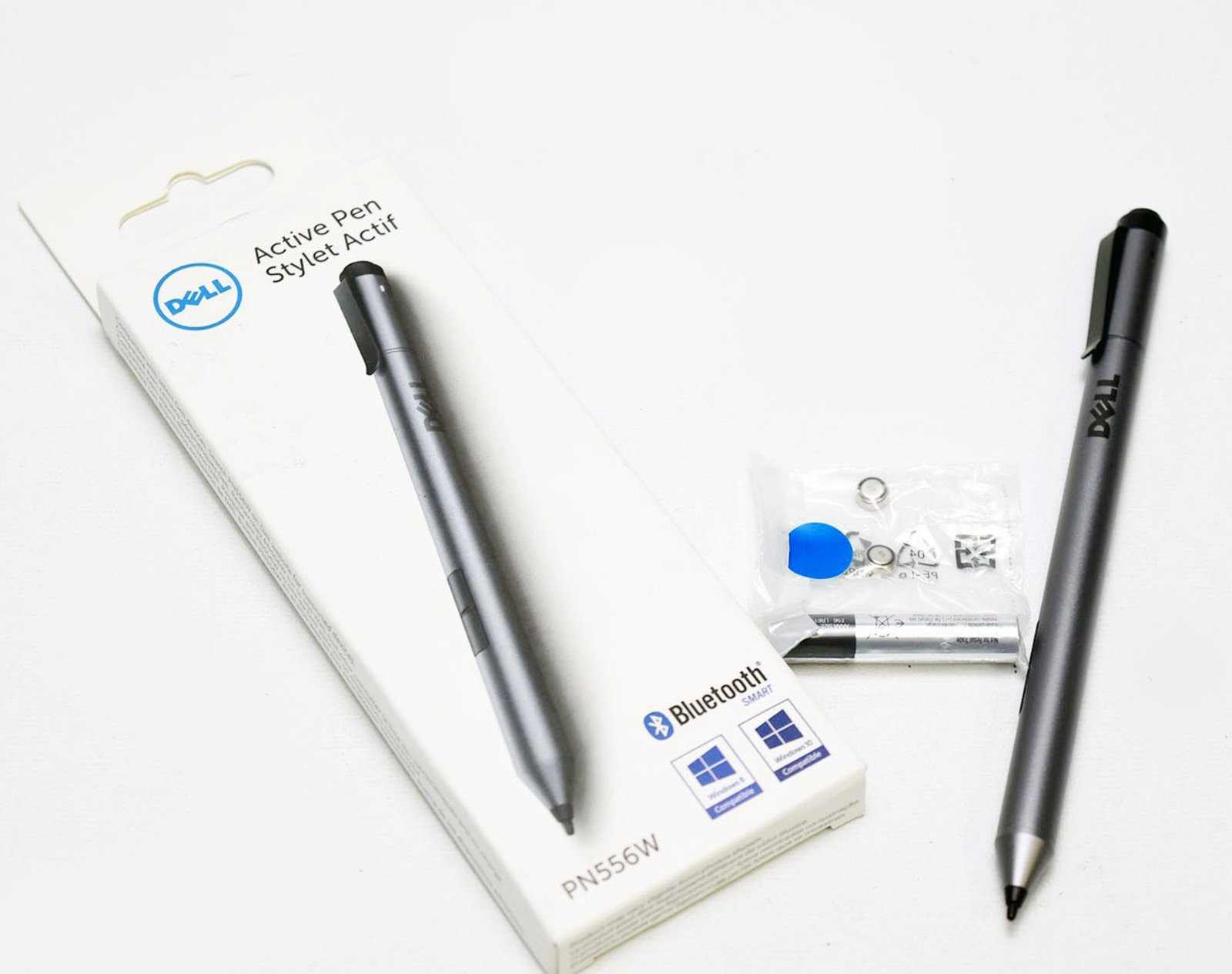 New 6D5GT Genuine Dell PN556W Active Stylus Pen Bluetooth XPS 12 9365 Venue 8/10 Pro Latitude 7275 3189 Latitude 11 5175 / 5179 Inspiron 7568 FHD Design Daily Computing Professional US6483 5000 Series by Aquamoon Trading