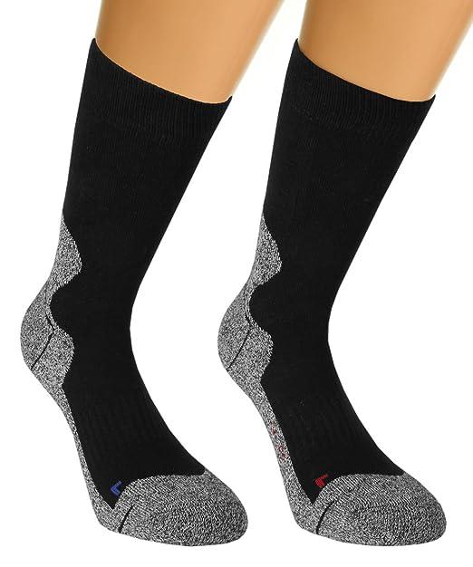 verkauf uk Größe 7 am beliebtesten Vitasox Damen & Herren Outdoor Socken Funktionssocken Trekkingsocken  Wandersocken Sportsocken Schwarz 35/38-52/54 2er & 4er Pack