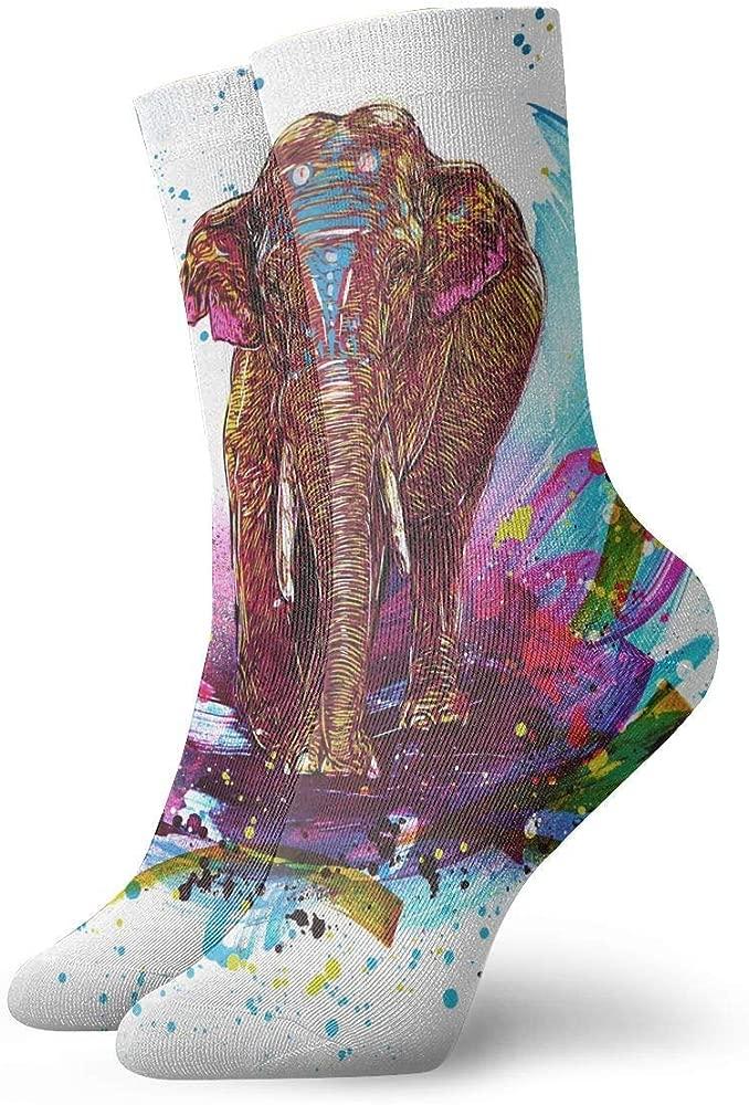 Drempad Luxury Calcetines de Deporte Tribal Colorful ...