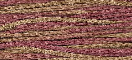 Amazon com: Weeks Dye Works Embroidery Floss Thread, Rust