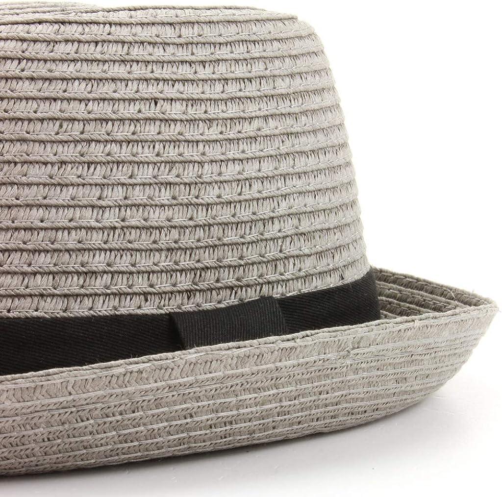 Hawkins Straw Paper Pork Pie Hat