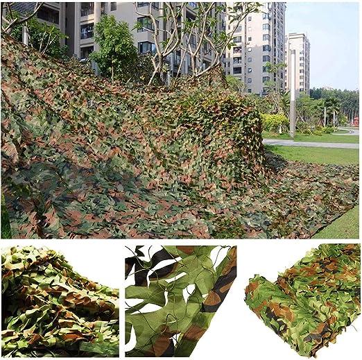 Red de Camuflaje Vela Solar Ejército Verde Malla de Camuflaje Militar Red de Jardines de Arbolado Tela Malla de Sombra Toldos para Jardin Terraza Balcón Pérgola Gazebo Bosque Paisaje Decoración Caza: Amazon.es: