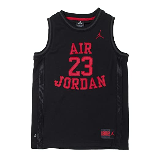 4a3bb2bfd Amazon.com  Nike Boys Youth Air Jordan Muscle T-Shirt  Sports   Outdoors