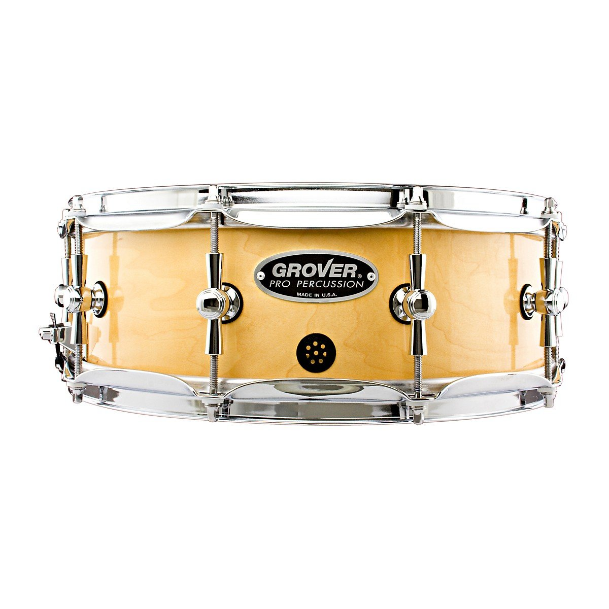 Grover Pro GSX Concert Snare Drum Natural Lacquer 14 x 5 in. by Grover Pro
