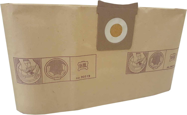 Pack de 5 Remplacement sacs pour aspirateurs AquaVac 7402-B