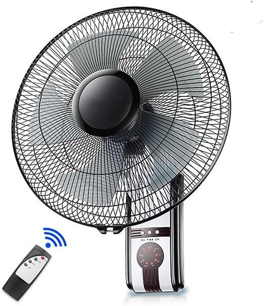 HJWL Ventilador de Pared, Wall Fan Función del Temporizador de ...