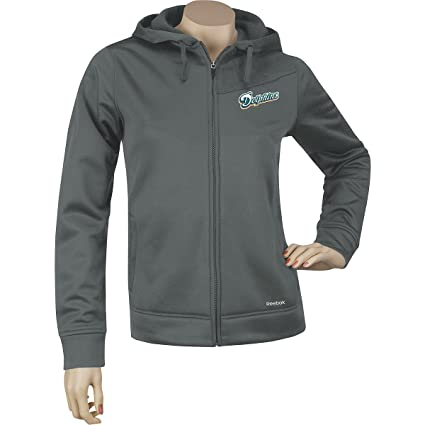 e48e5b9f5 Image Unavailable. Image not available for. Color  Reebok Miami Dolphins Women s  Tech Fleece ...