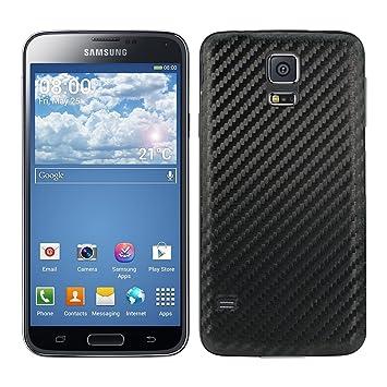 kwmobile 18291.01 Funda para teléfono móvil Negro - Fundas para teléfonos móviles (Funda, Samsung, Galaxy S5 / S5 Neo, Negro)