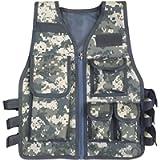 JOKHOO Kids Army Camouflage Outdoor Combat Vest
