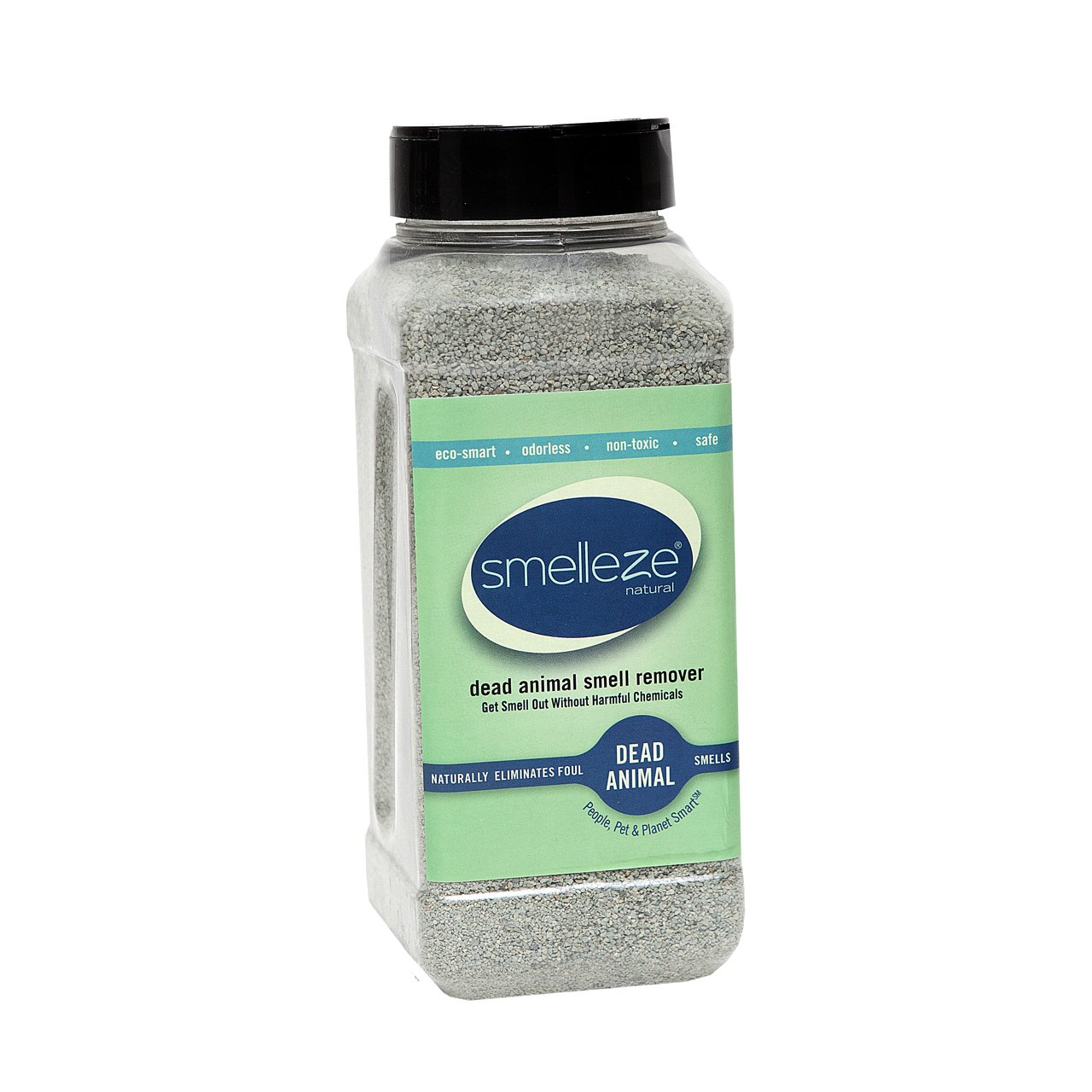 SMELLEZE Eco Yard & Concrete Smell Removal Deodorizer: 50 lb. Granules Rid Outdoor Odor