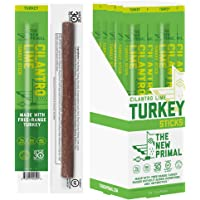 The New Primal Cilantro Lime Turkey Meat Stick, Whole30 Approved, Paleo, Keto, Pantry Staple, Certified Gluten Free, Low…