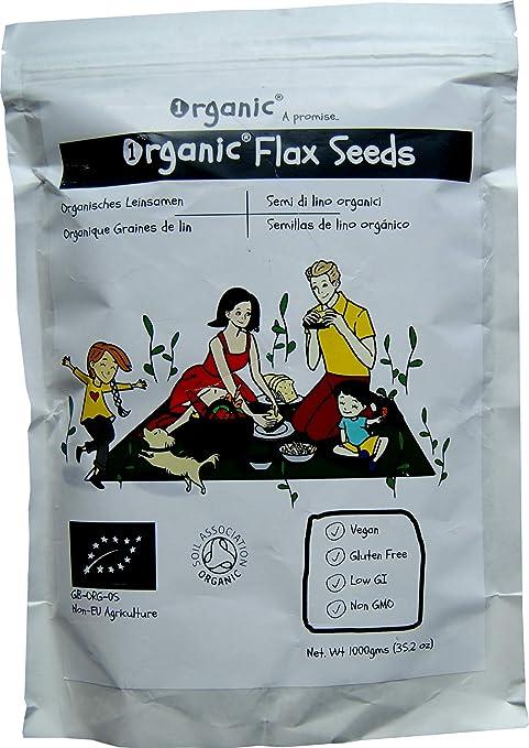 Semillas de lino/Flax Seeds/Flaxseed/Linseed, Marrón, Certificado ...