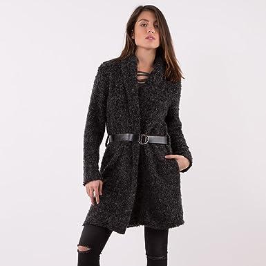 Manteau femme en bouclette