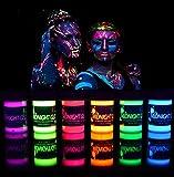 Black Light Paint UV Neon Face & Body Paint Glow
