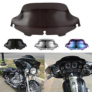 4 6 8 pour Harley Davidson Sportster 883/1200/Electra Glide Road King League /& Co Pare-brise avant 4/couleurs