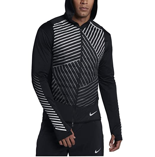 bd138d957416 Amazon.com  Nike Aeroloft Flash Men s Running Vest (Black Metallic ...