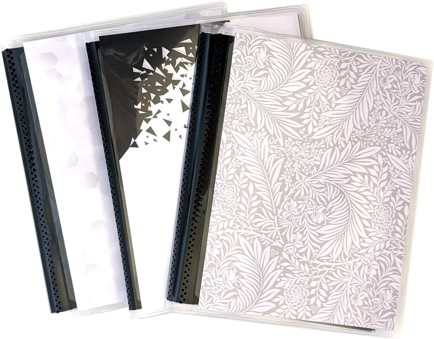 Flexible Bindings Hold Up to 48 4x6 Photos in Each Mini Photo Album. CocoPolka 3 Pack 4 x 6 Photo Albums with Pastel Covers with Removeable Cardstock Inserts in Covers