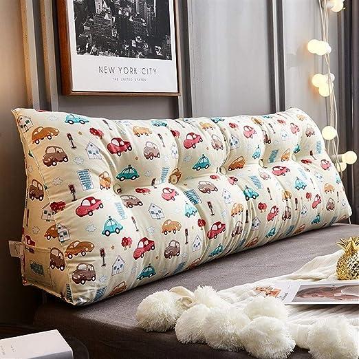 CKKD-pillow Cojín de Lectura de algodón, Cojín Lateral ...