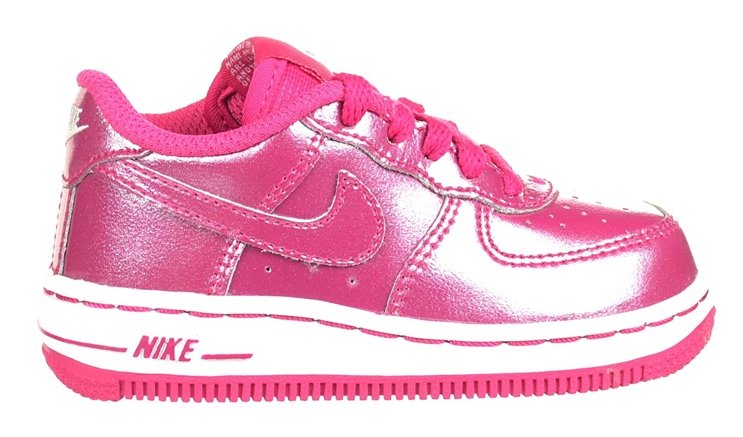 48cce094142af Amazon.com | Nike Air Force 1 Low (TD) Baby Toddlers Shoes Fireberry ...