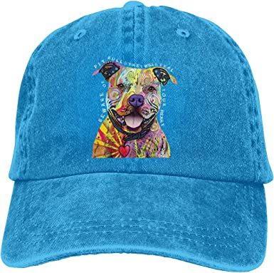 Dont Judge My Pitbull Cap I Love My Pitbull Profile Snapback Hat