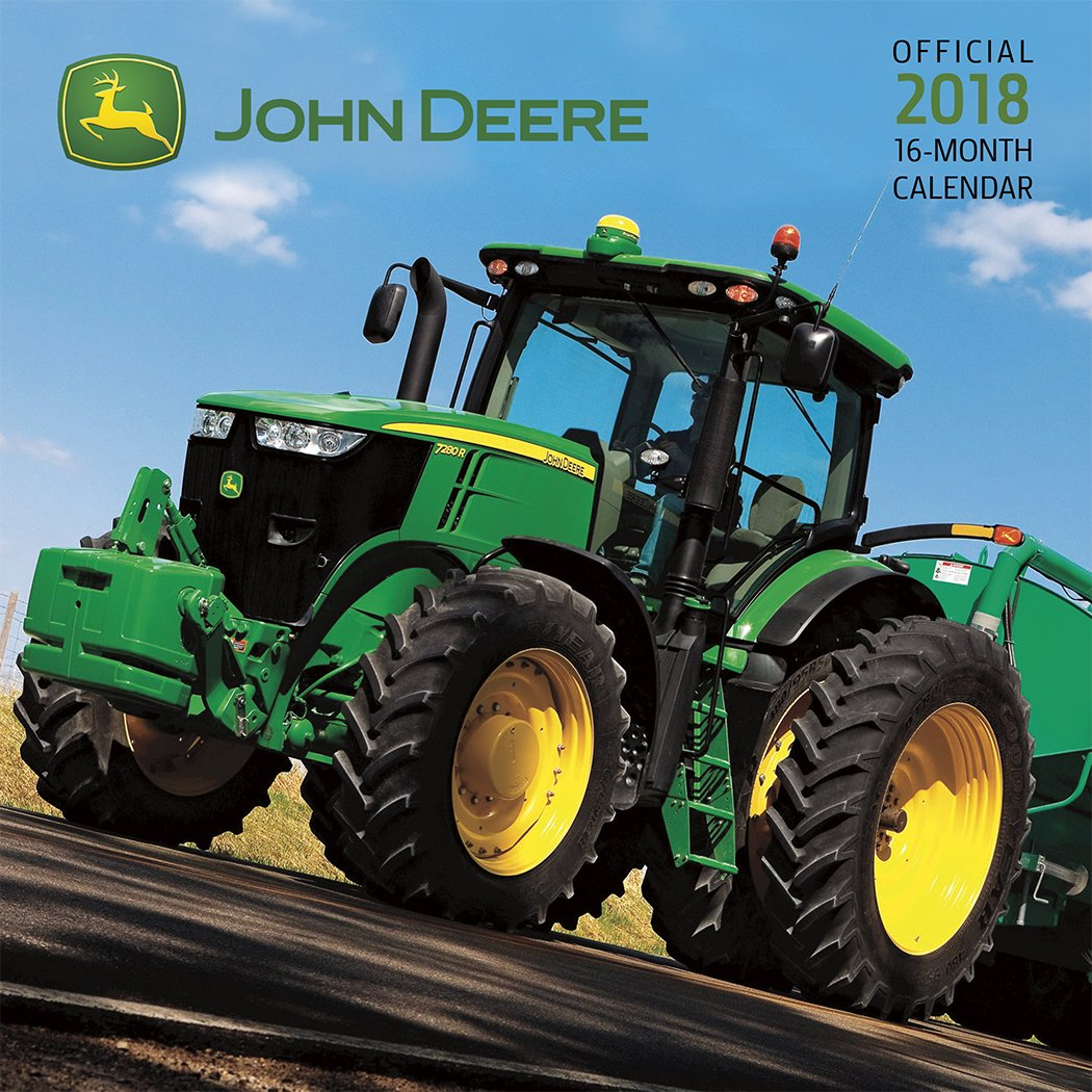 John Deere 2018 Calendar (Inglés) Calendario – Calendario mural, Mini Calendar Trends International Dateworks 1438851626 General
