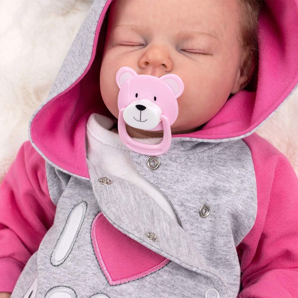 """Baby Sweets Overall f/ür Neugeborene /& Babys mit Kapuze /""""I Love Papa/"""" f/ür M/ädchen und Jungen Verschiedene Gr/ö/ßen"""