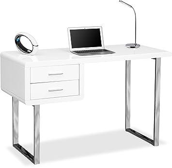 Centurion Supports Harmonia Schreibtisch/Computertisch, Für Zuhause/Büro, 2  Schubläden, Modern