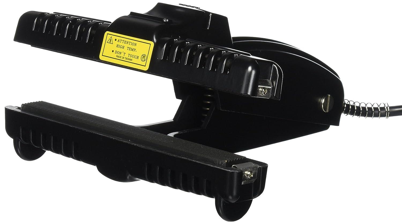 KF-Constant Heat Bag Sealer for Mylar Bags 2 Heat Settings, Black 150CST