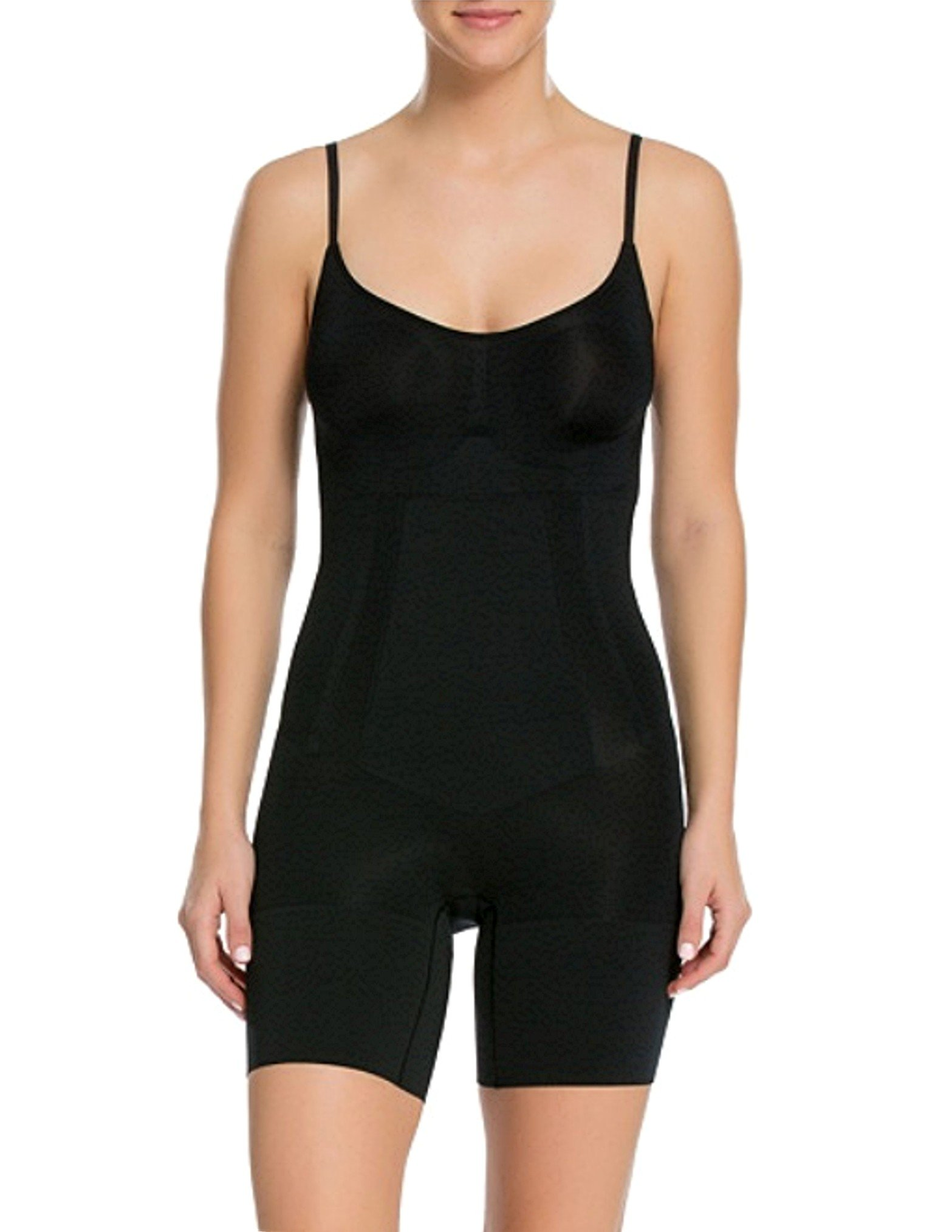 SPANX Plus Size OnCore Firm Control Bodysuit, 1X, Black