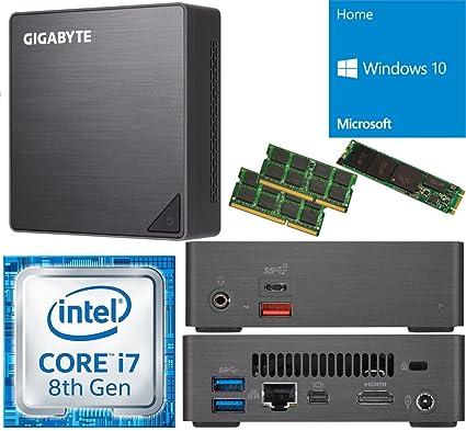 Amazon.com  Gigabyte GB-BRI7-8550 Brix Ultra Compact Mini PC with ... 2aed9983b033