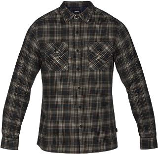 Hurley M Walker Flannel Top L/S–Camicie Uomo, Uomo, AR0820