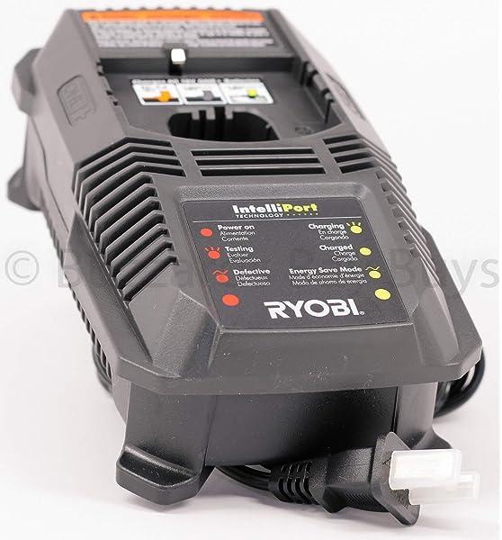 Ryobi 140153004 Reciprocating Saw Battery Charger, 18-volt ...