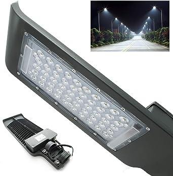 Foco Proyector LED farol 100 W palo Exterior armadura de tráfico ...