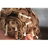 Prime Salon Hairdressing Sectioning Dividing Silver Metal Clips For Hair Styling -60 Pieces