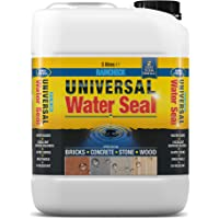 Raincheck Universal Water Seal (5 Litre) Breathable, Colourless Waterseal for Brick, Wood, Concrete and Stone