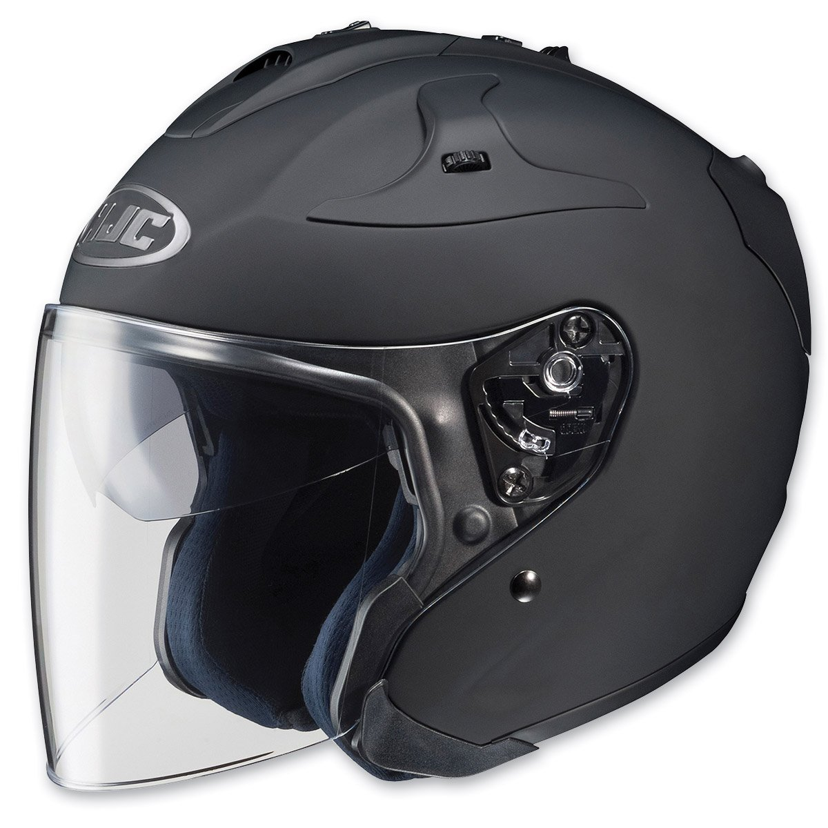 HJC FG-JET Open-Face Motorcycle Helmet 640-146 White, XX-Large