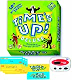 Time's Up Deluxe Board Game 10th Anniversary Edition - The Fast Paced Guess Who I Am Game