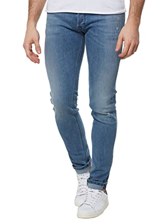 e5c1694f Diesel Men's Jeans Sleenker Denim Pants Slim Skinny fit Cotton Blue  00S7VG-0688C-01