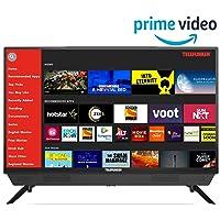 Telefunken 80 cm (32 Inches) HD Ready Smart LED TV TFK32S (Black) (2019 Model) |With Built-in Soundbar