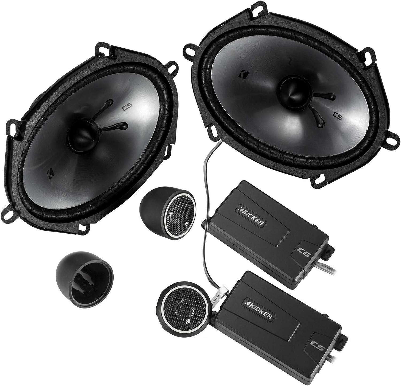 Kicker 46CSS684 Car Audio 6x8 Component Full Range Stereo Speakers Set CSS68