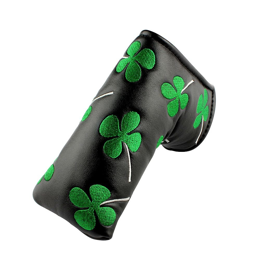 New Clover Shamrock Golf Putter Club Cover Headcover for Scotty Cameron Taylormade Odyssey Blade