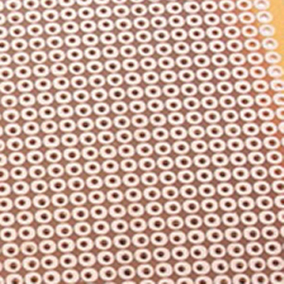 Sylvialuca Exp/érience Matrix Circuit Board Universal DIY Prototype Paper PCB 5x7cm Single Side Copper PCB Hole Dia 1mm 10Pcs