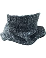 Mens Winter Thermal Knit Snood with Fleece Lining.