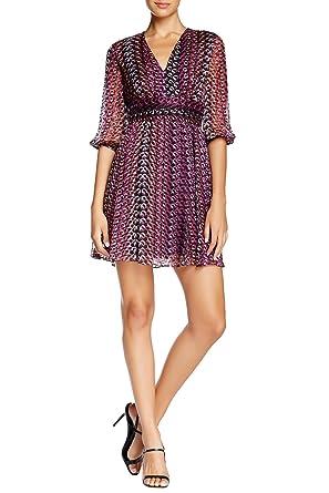 4adfaeb5c1c01 Amazon.com  Diane Von Furstenberg A-Line Silk Dress (6