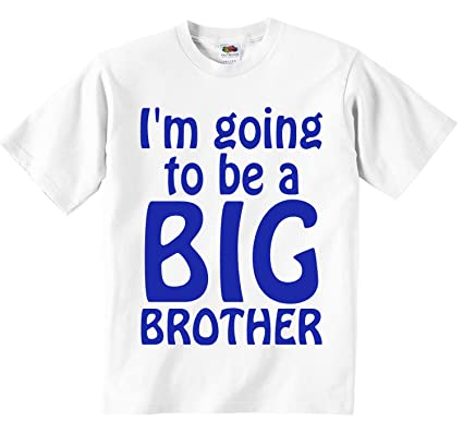 3a4c1708 I'm Going To Be A Big Brother T-Shirt.: Amazon.co.uk: Clothing