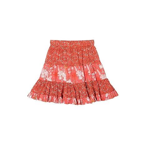 Falda con volantes (algodón, Elisa naranja naranja Talla:2 años ...
